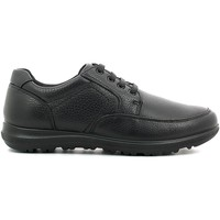 Shoes Men Walking shoes Enval 6887 Shoes with laces Man Black Black