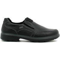 Shoes Men Loafers Enval 6890 Mocassins Man Black Black