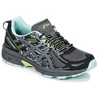 Shoes Women Running shoes Asics GEL-VENTURE 6 Black / Green