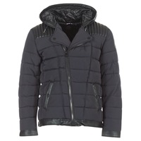 Clothing Men Duffel coats Le Temps des Cerises BEND Black