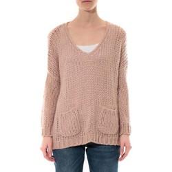 Clothing Women Jumpers De Fil En Aiguille Pull  Senes Rose Ym135 Pink