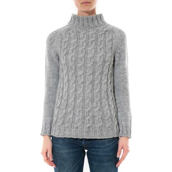 Clothing Women Jumpers De Fil En Aiguille Pull Farfalla Gris clair Grey