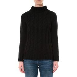 Clothing Women Jumpers De Fil En Aiguille Pull Farfalla Noir Black