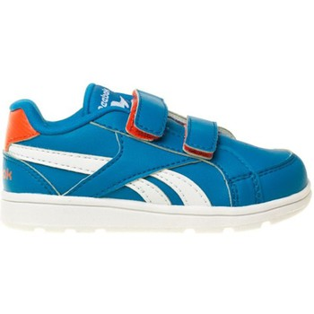 Shoes Children Low top trainers Reebok Sport Royal Prime Turquoise-White-Blue