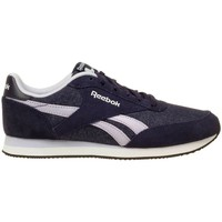Shoes Women Low top trainers Reebok Sport Royal CL Jogger Violet-White-Grey