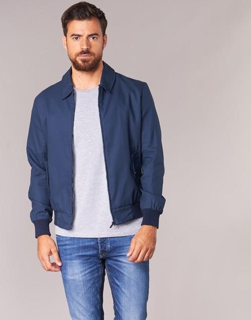 Clothing Men Jackets Casual Attitude IHIBERNA Marine