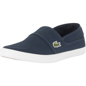 Shoes Men Low top trainers Lacoste Men's Marice BL 2 CAM Trainers, Blue blue