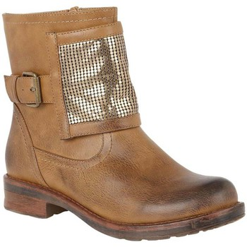 Lotus  Bartek Womens Biker Boots  womens Low Ankle Boots in brown