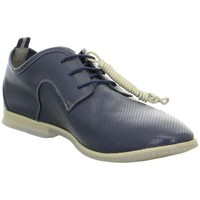 Shoes Men Derby Shoes Clarks Frewick Walk Blue