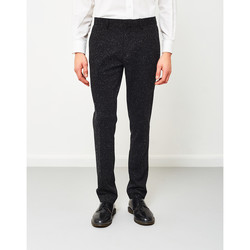 Clothing Men 5-pocket trousers Vito Maddex Hop Trousers Black Black