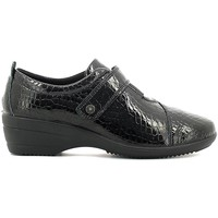 Shoes Women Walking shoes Enval 6940 Scarpa velcro Women Black Black