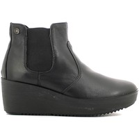 Shoes Women Mid boots Enval 6962 Ankle boots Women Black Black
