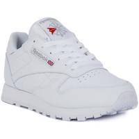 Shoes Men Low top trainers Reebok Sport CLASSIC LTHR Bianco