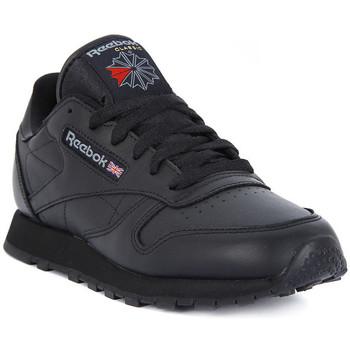 Shoes Men Low top trainers Reebok Sport CLASSIC LTHR Nero
