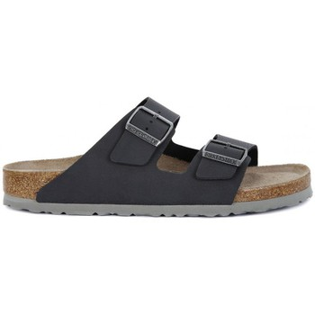 Shoes Women Mules Birkenstock ARIZONA SFB DESERT Nero