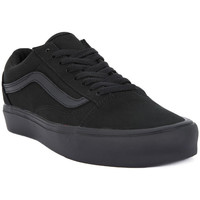 Shoes Men Low top trainers Vans OLD SKOOL LITE Nero