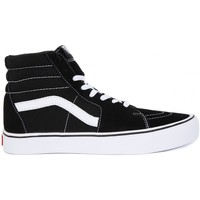 Shoes Men Hi top trainers Vans SK8 HI LITE Nero
