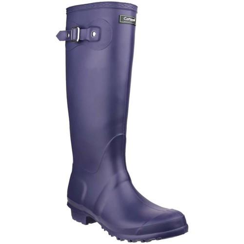 Shoes Women Wellington boots Cotswold Sandringham Womens Wellingtons purple