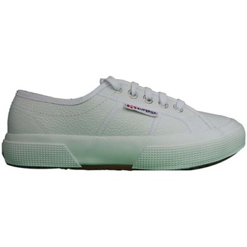 Shoes Men Low top trainers Superga 2750 FGLU Leather white