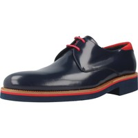 Shoes Men Derby Shoes Angel Infantes 31055 Blue