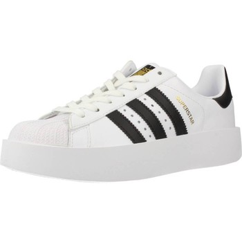 Shoes Women Low top trainers adidas Originals SUPERSTAR BOLD W White