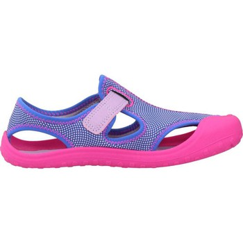 Shoes Girl Sandals Nike SUNRAY PROTECT Violet