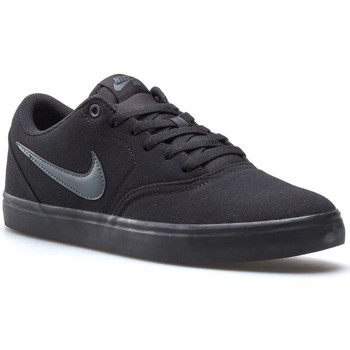 Shoes Men Low top trainers Nike SB Check Solar Cnvs Black