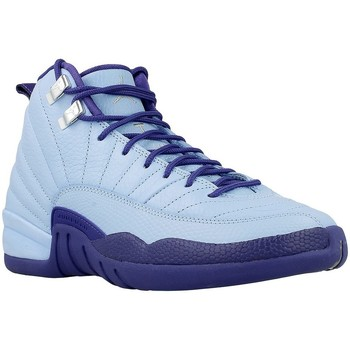 Shoes Men Basketball shoes Nike Air Jordan 12 Retro GG Light blue-Navy blue