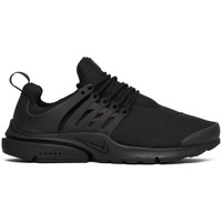 Shoes Men Low top trainers Nike Air Presto Essential All Black Black