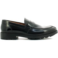 Shoes Men Loafers Marco Ferretti 160582MG 2140 Mocassins Man Black Black