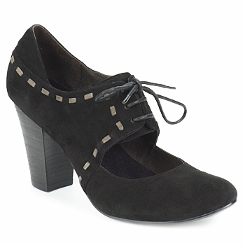 Shoes Women Heels Sans Interdit ELINE Black