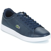 Shoes Men Low top trainers Lacoste CARNABY EVO BL Marine