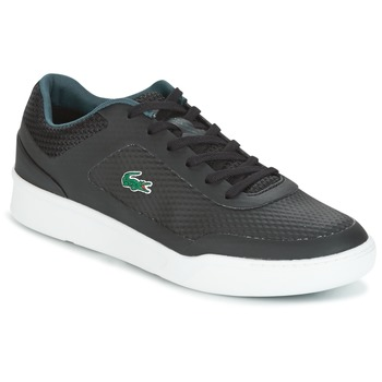 Shoes Men Low top trainers Lacoste EXPLORATEUR SPORT Black / Green