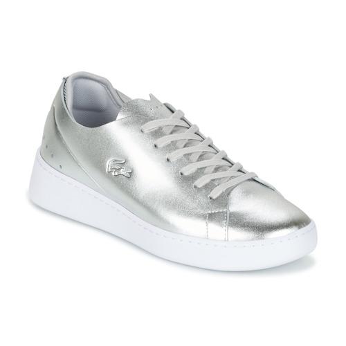 Shoes Women Low top trainers Lacoste EYYLA Silver