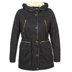Clothing Women Parkas Vero Moda GRADING PARKA Black