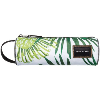 Quiksilver  Pencil Print Case  BP Protea White  mens Cosmetic bag in white