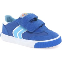 Shoes Boy Low top trainers Geox Baby Kiwi Boys Infant Shoes blue