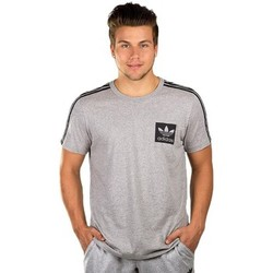 Clothing Men short-sleeved t-shirts adidas Originals Street Essentials Grey