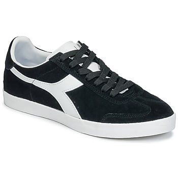 Shoes Low top trainers Diadora B ORIGINAL VLZ SUEDE Black