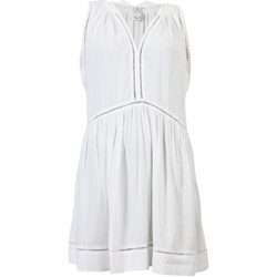 Clothing Women Dresses Seafolly White Ladder Detail Beach Dress Tibetan Travel WHITE