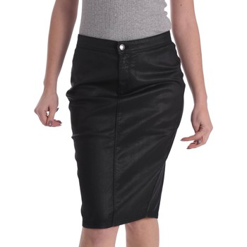 Clothing Women Skirts Gas 335608 Skirt Women Black Black
