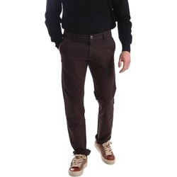 Clothing Men 5-pocket trousers Gaudì Jeans 62BU25002 Trousers Man Brown Brown
