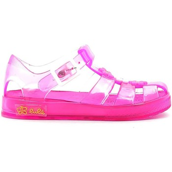 Shoes Children Sandals Lulu' Lulu' LI190001S Sandals Kid Pink Pink