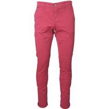 Clothing Men Trousers Serge Blanco Chino  rouge red