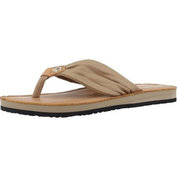 Shoes Women Flip flops Tommy Hilfiger MONICA 14D3 Light Brown