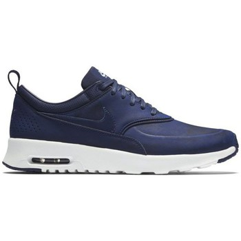 Shoes Women Low top trainers Nike Air Max Thea Navy blue-White