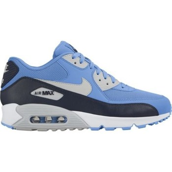 Shoes Men Low top trainers Nike Air Max 90 Essential Black-Blue