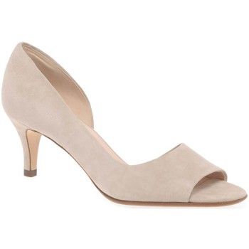Shoes Women Heels Peter Kaiser Jamala II Womens Open Toe Court Shoes BEIGE