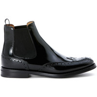 Shoes Women Shoe boots Church's Beatles Ketsby in pelle nera Black