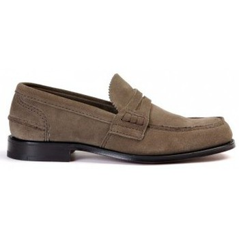 Shoes Men Loafers Church's PEMBREY DOVE-GREY LOAFER Brown